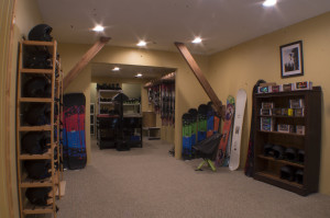 Our Ski & Snowboard Shop